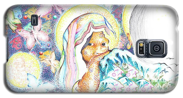 Itzpapalotl Y La Joven Virgin Galaxy S5 Case