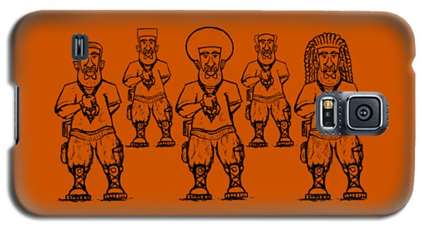 Iuic Soldier 1 W/outline Galaxy S5 Case