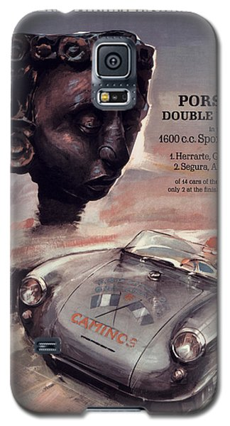 Iv Carrera Panamericana Porsche Poster Galaxy S5 Case