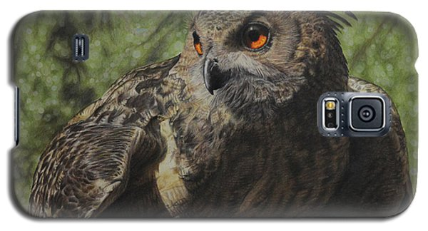 Galaxy S5 Case featuring the painting Ivan by Jennifer Watson