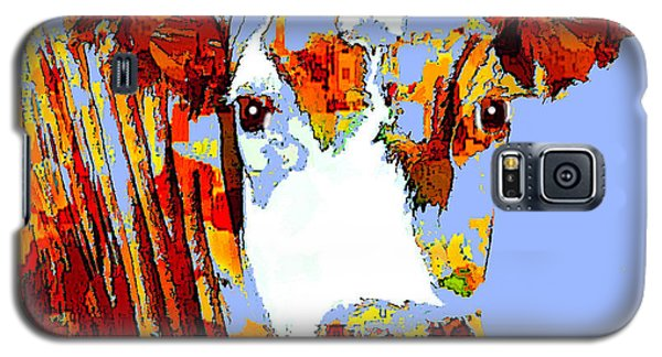 Purple Cow Galaxy S5 Case
