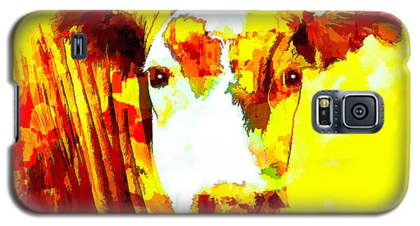 Yellow Cow Galaxy S5 Case