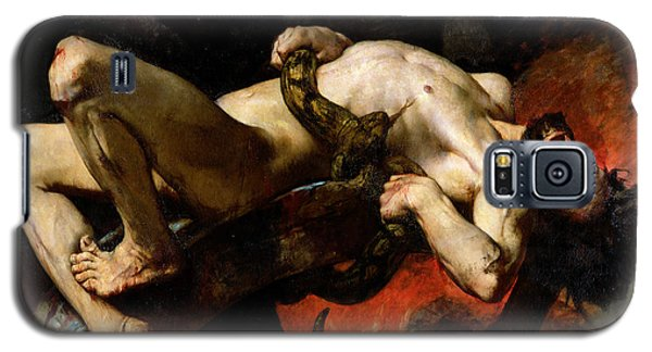 Ixion Thrown Into Hades Galaxy S5 Case by Jules Elie Delaunay
