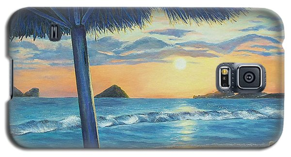 Galaxy S5 Case featuring the painting Ixtapa by Susan DeLain