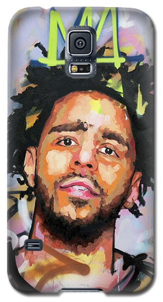 J Cole Galaxy S5 Case by Richard Day