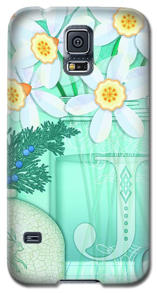 J Is For Jar Of Jonquils Galaxy S5 Case