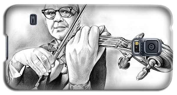 Violin Galaxy S5 Case - Jack Benny by Greg Joens