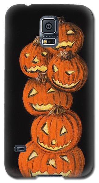 Jack-o-lantern Galaxy S5 Case