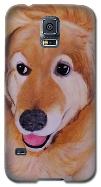 Galaxy S5 Case featuring the drawing Jack Ready To Go by Christy Saunders Church