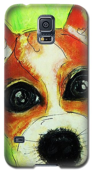 Jack Russell - Cookie Galaxy S5 Case by Laura  Grisham