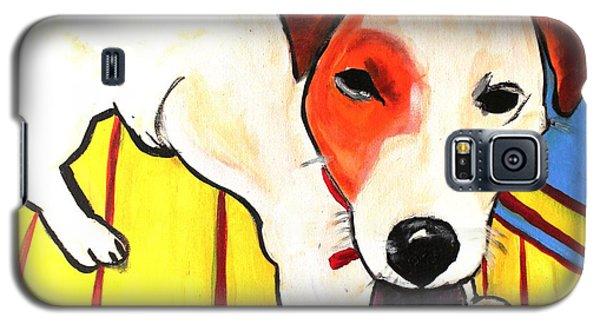 Jack Russell Terrior- Peanut Galaxy S5 Case