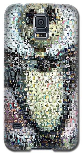 Jack Skellington Mosaic Galaxy S5 Case