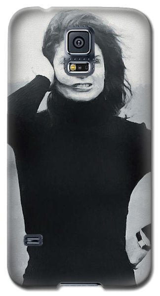 Galaxy S5 Case featuring the painting Jackie Kennedy - Painting by Ericamaxine Price