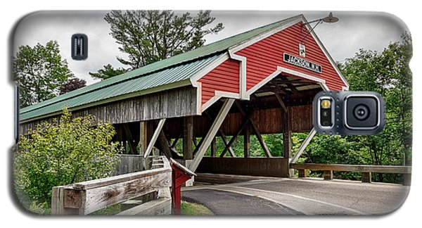 Jackson Covered Bridge Galaxy S5 Case by Betty Denise