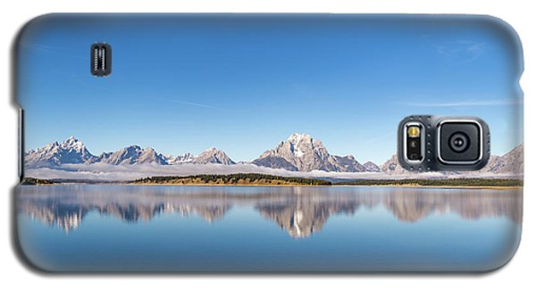 Galaxy S5 Case featuring the photograph Jackson Lake by Mary Hone