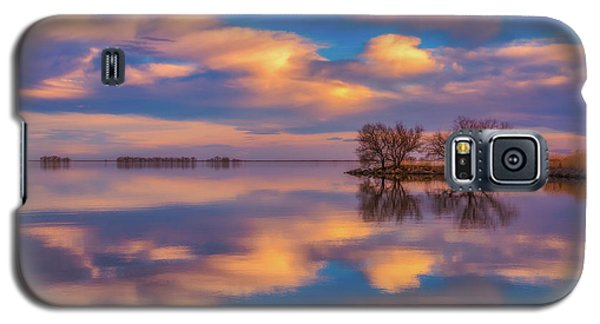 Galaxy S5 Case featuring the photograph Jackson Lake Sunset by Darren White