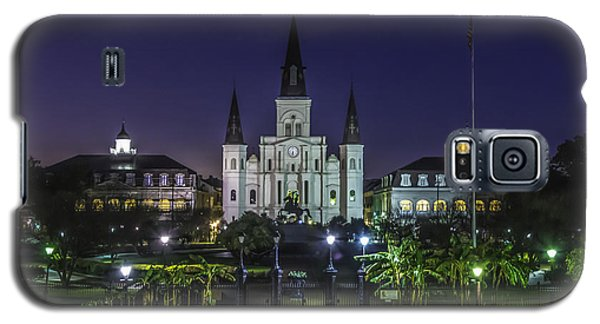 Jackson Square And St. Louis Cathedral At Dawn, New Orleans, Louisiana Galaxy S5 Case