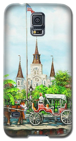Jackson Square Carriage Galaxy S5 Case