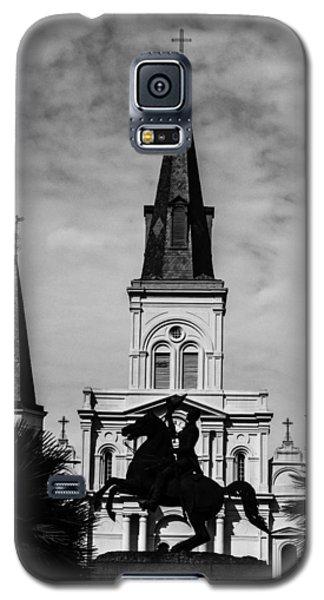 Jackson Square - Monochrome Galaxy S5 Case