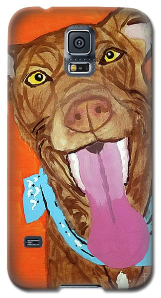Jackson Date With Paint Mar 19 Galaxy S5 Case