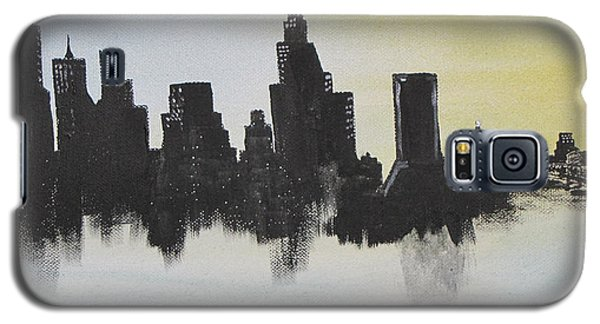 Galaxy S5 Case featuring the painting Jacksonville Florida by Gary Smith