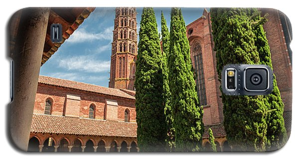 Galaxy S5 Case featuring the photograph Jacobin Convent In Toulouse by Elena Elisseeva