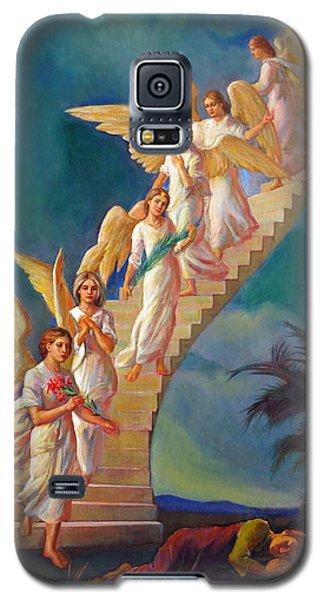 Jacob's Ladder - Jacob's Dream Galaxy S5 Case by Svitozar Nenyuk