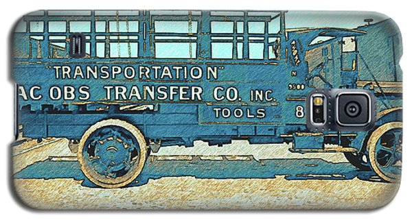Jacobs Transfer Company 1917 White Truck Galaxy S5 Case