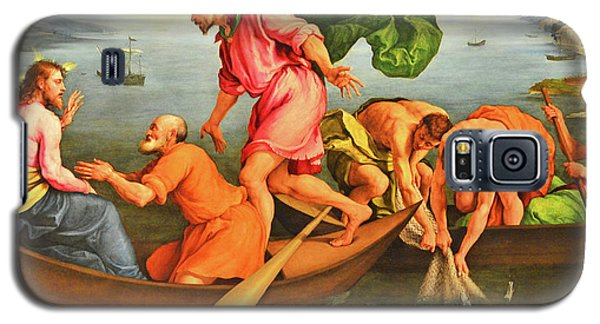 Galaxy S5 Case featuring the photograph Jacopo Bassano Fishes Miracle by Munir Alawi