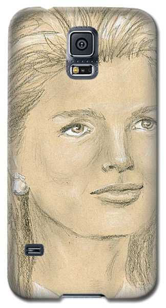 Jacqueline Kennedy Galaxy S5 Case by P J Lewis
