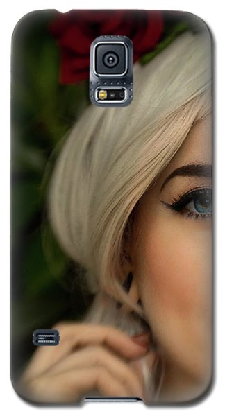 Jade Close Crop Galaxy S5 Case