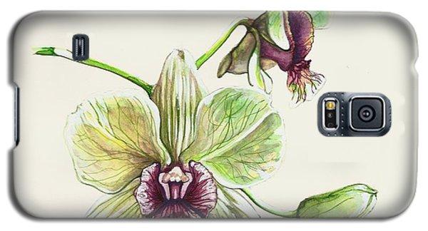 Jade Dendrobium Galaxy S5 Case