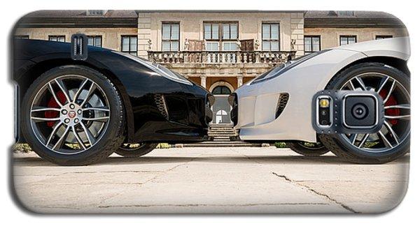Jaguar F-type - Black And White Galaxy S5 Case