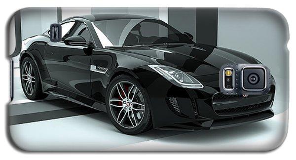 Jaguar F-type - Black Retro Galaxy S5 Case