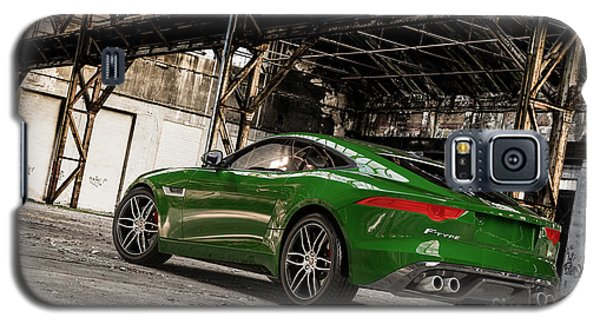 Jaguar F-type - British Racing Green - Rear View Galaxy S5 Case
