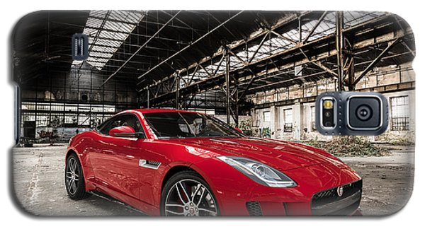 Jaguar F-type - Red - Front View Galaxy S5 Case