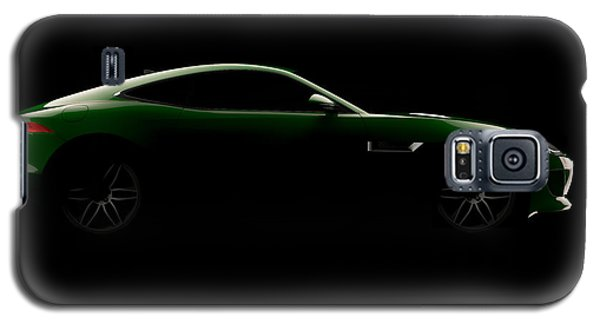 Jaguar F-type - Side View Galaxy S5 Case