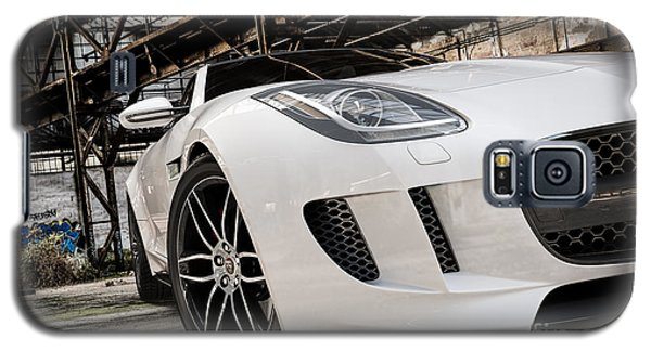 Jaguar F-type - White - Front Close-up Galaxy S5 Case