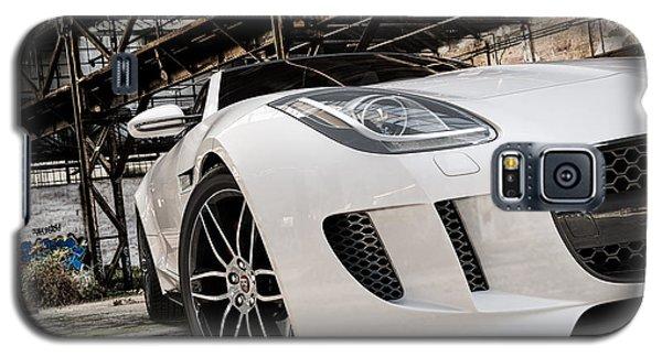 Jaguar F-type - White - Front Close-up Galaxy S5 Case