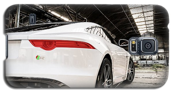 Jaguar F-type - White - Rear Close-up Galaxy S5 Case