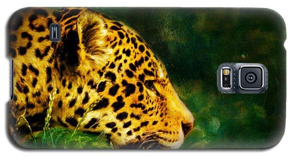 Jaguar In The Grass Galaxy S5 Case