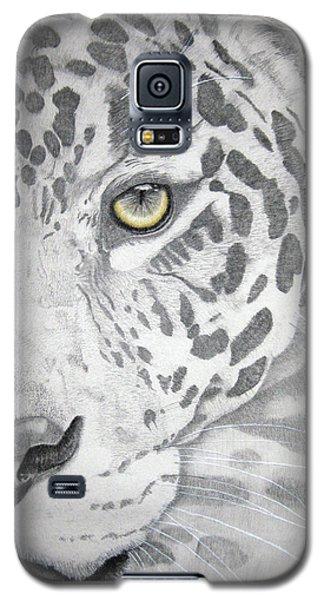 Galaxy S5 Case featuring the drawing Jaguar by Mayhem Mediums