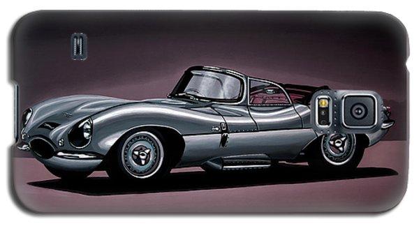 Jaguar Xkss 1957 Painting Galaxy S5 Case