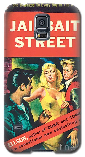 Galaxy S5 Case featuring the painting Jailbait Street by Ray Johnson