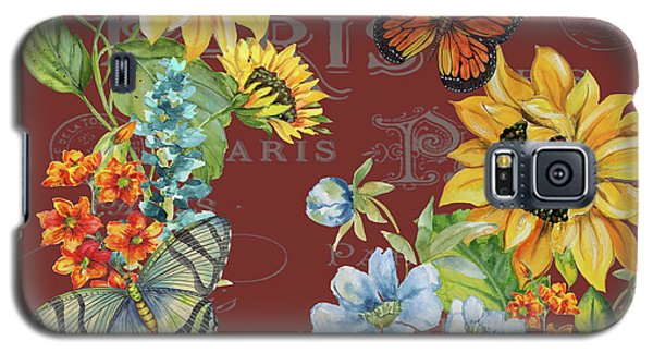Galaxy S5 Case featuring the painting Jaime Mon Jardin-jp3988 by Jean Plout