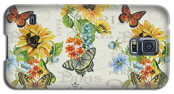 Galaxy S5 Case featuring the painting Jaime Mon Jardin-jp3989 by Jean Plout
