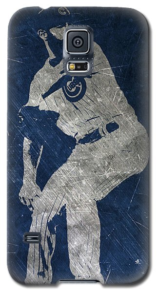 Jake Arrieta Chicago Cubs Art Galaxy S5 Case
