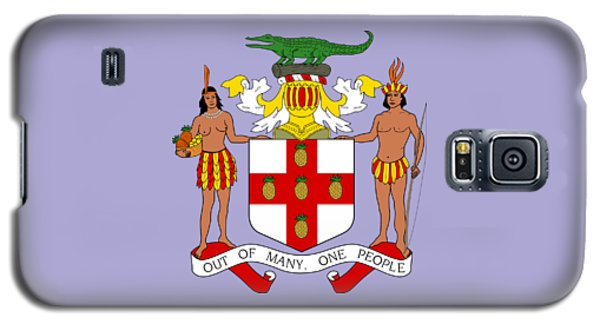 Jamaica Coat Of Arms Galaxy S5 Case by Movie Poster Prints