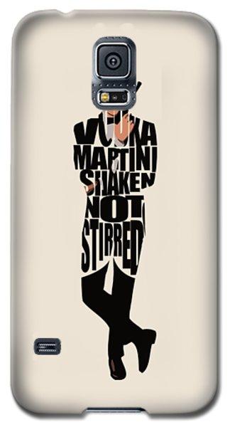 James Bond Galaxy S5 Case