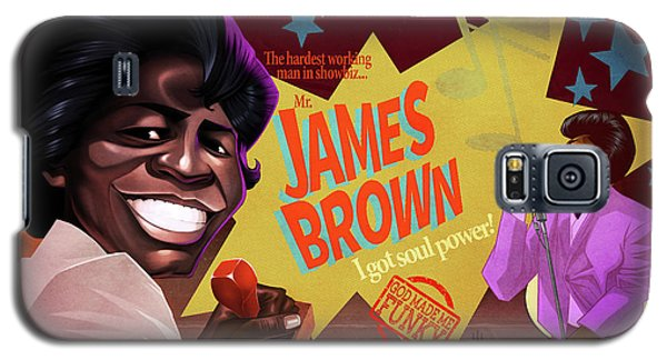 James Brown Galaxy S5 Case by Nelson Dedos Garcia